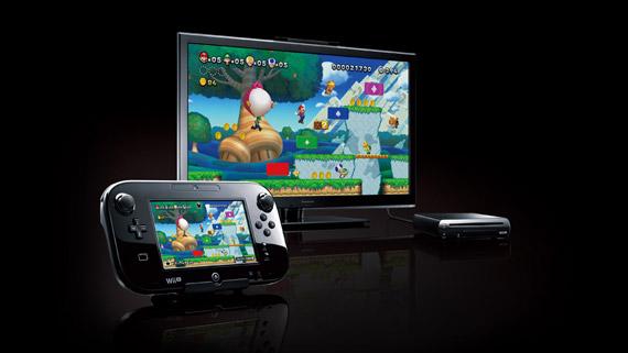 Wii U 本体 Kuro