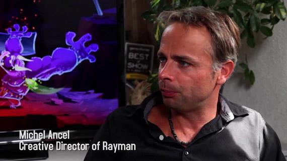 Michel Ancel Creative Director of Rayman