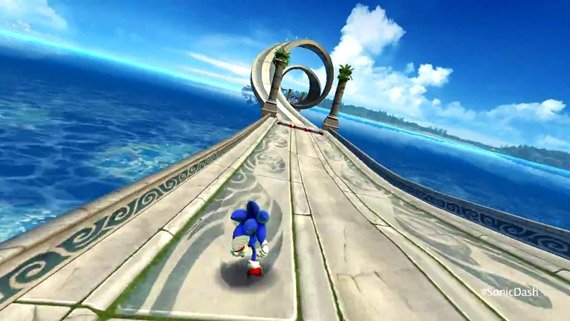 Sonic Dash GamePlay