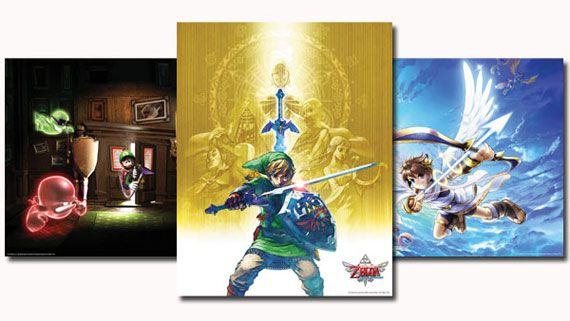 Club Nintendo 2012 Plutinum Posters