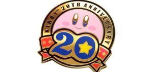 クラブニンテンドー 「星のカービィ 20周年記念バッジ」