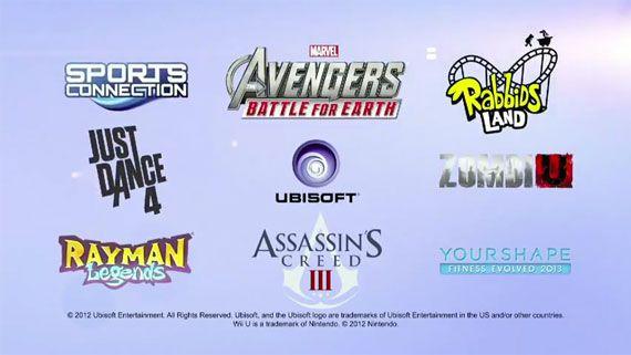 Ubisoft Wii U Lineup