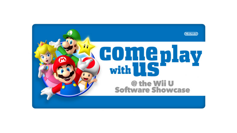 Come Play With Us @ The Wii U Software Showcase