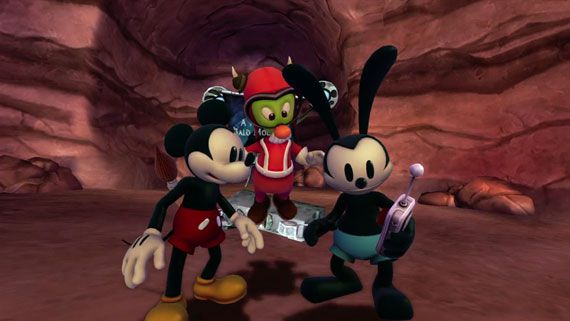 "Disney Epic Mickey 2: The Power of Two ""The Power of Characters"""