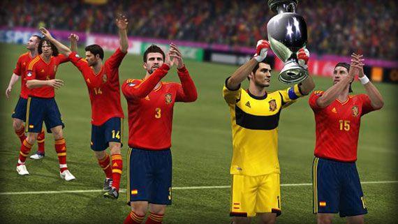 """FIFA 12 """"UEFA EURO 2012"""" Spain"""