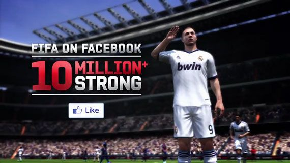 FIFA on Facebook 10 Milion+ Strong