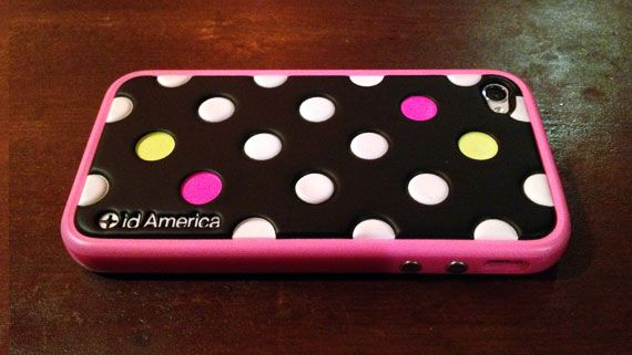id America Cushi Dot × Apple iPhone 4 Bumper