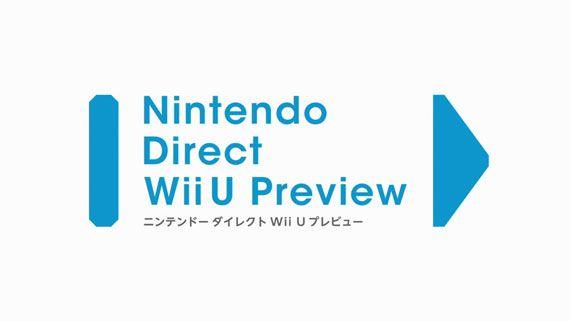 Nintendo Direct Wii U Preview Japan