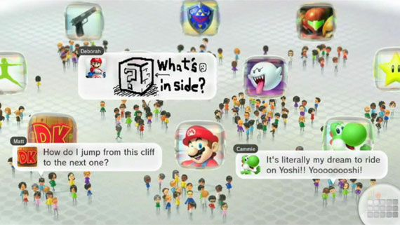 Wii U Miiわらわら