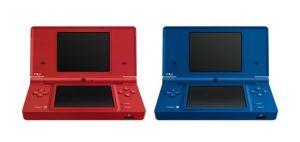 Nintendo DSi マットレッド、マットブルー