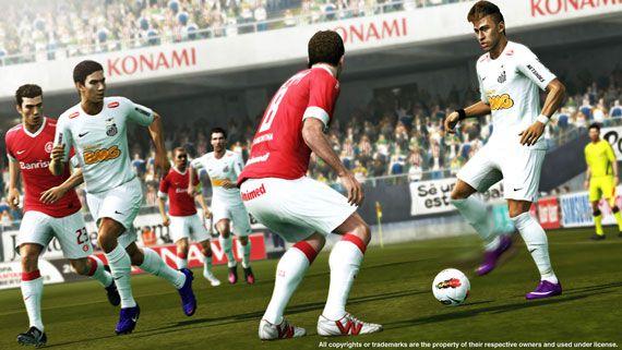 PES 2013 | サントスFC vs. インテルナシオナル