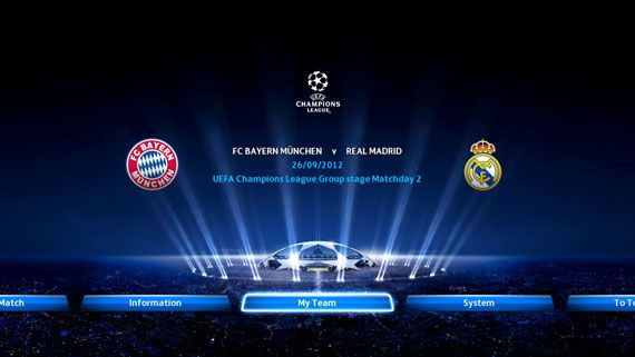 PES 2013 UEFA CL Bayern Munchen vs. Real Madrid icon
