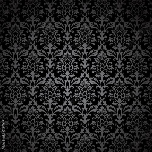 Black Damask Pattern Buy Photos AP Images DetailView