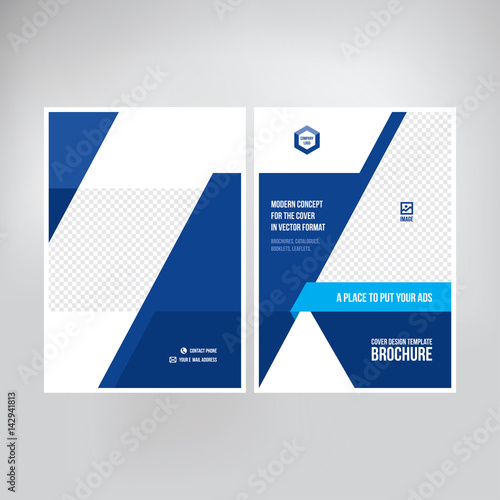 Cover for catalogue, brochure, booklet, leaflet Graphic template
