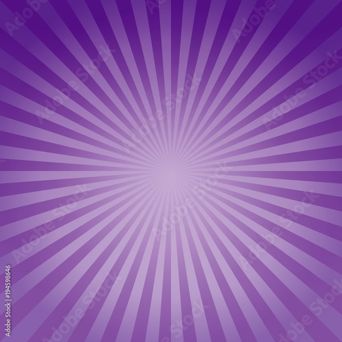 Abstract background Soft Purple Violet gradient rays background