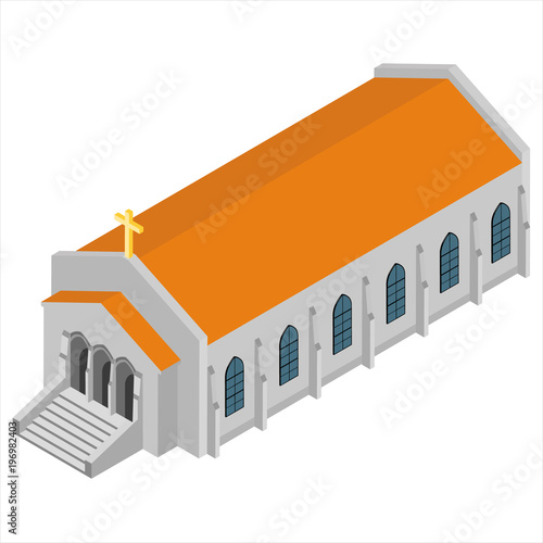 Isometric church vector Buy Photos AP Images DetailView