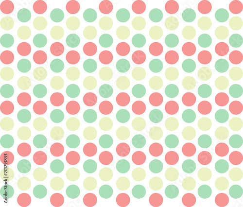 Green and Pink Polka Dot Background Buy Photos AP Images