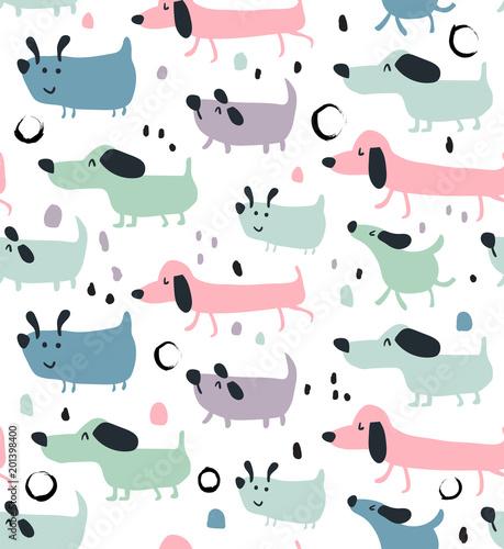 Cute Cats Wallpaper With Polka Dot Bow Tie Obraz Pł 243 Tno Wzory Powtarzalne Psy Str 1
