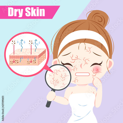 woman with dry skin concept Buy Photos AP Images DetailView