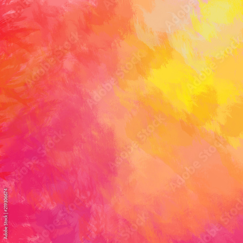 Colorful background Bright red yellow pink orange painted