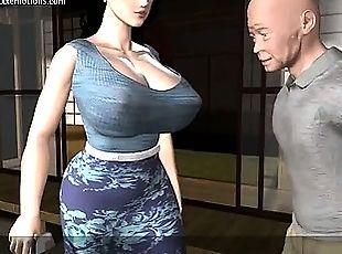 hentai milf incest