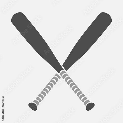 Baseball bat vector icon Buy Photos AP Images DetailView