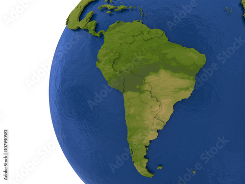 South American continent on Earth Buy Photos AP Images DetailView