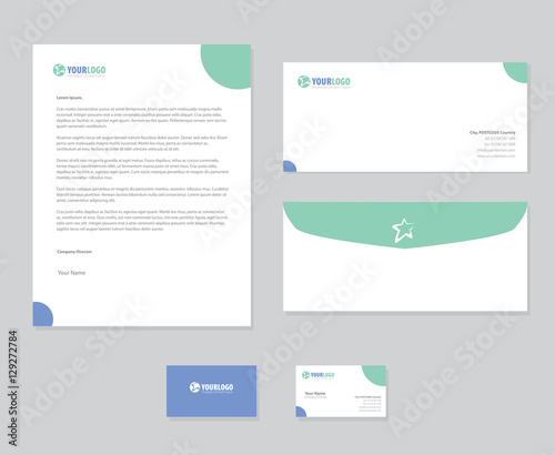 Corporate stationery template design Buy Photos AP Images