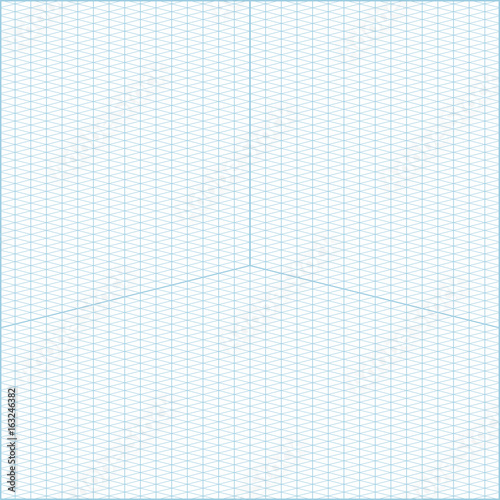 Wide angle isometric grid graph paper background Buy Photos AP