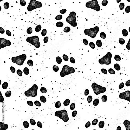 Cute Cats Wallpaper With Polka Dot Bow Tie Plakat Wzory Powtarzalne Psy Str 1