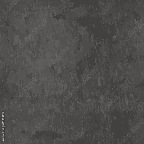 Vector dark grey slate seamless texture Abstract black stone