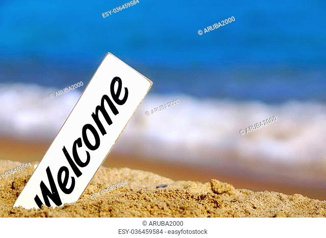 Welcome aboard letter Stock Photos and Images age fotostock