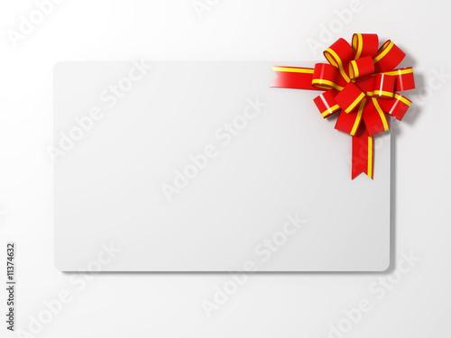 blank gift card\