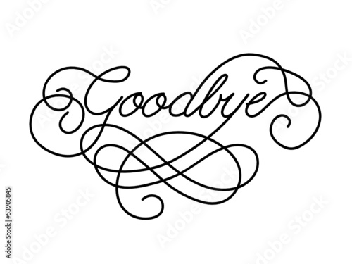 GOODBYE\ - good luck card template