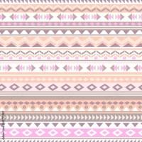 """Pastel aztec zigzag seamless background"" Stock image and ..."