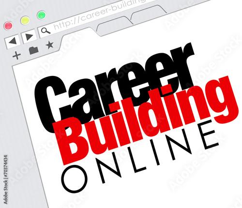Career Building Online Website Job Seeking Classified\