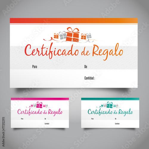 Certificado de regalo\