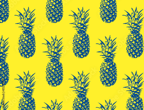 Cute Wallpapers Of Pineapples Quot Pineapple Pattern Quot Stock Image And Royalty Free Vector