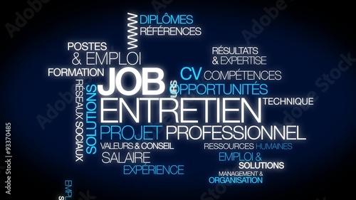 projet professionnel cv business