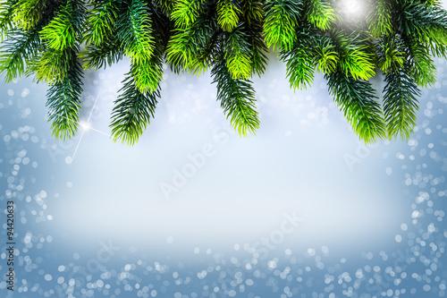 Christmas Time Christmas border design Christmas Greeting Card