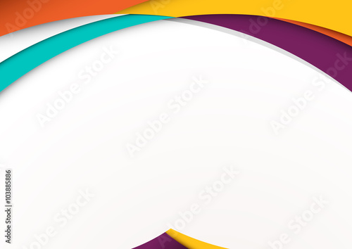 Modern material design background vector illustration\