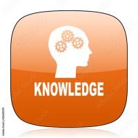 """""""knowledge orange square web design glossy icon"""" Imagens e ..."""