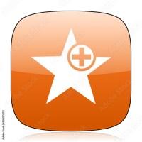 """""""star orange square web design glossy icon"""" Stock photo ..."""
