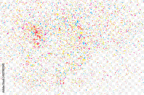 Free Falling Snow Wallpaper Quot Colorful Explosion Of Confetti Isolated On Transparent