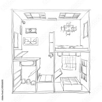 3d Door Drawing & Rear View Of A Businessman In A Black ...