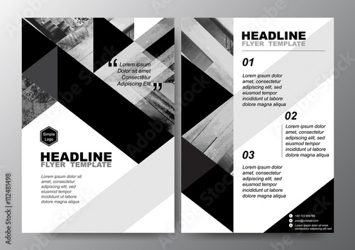 black and white flyer template efficiencyexperts - black and white flyer template