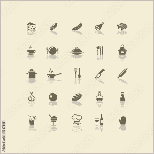 "Fhem Icon Küche ""icons Kochen Küche"" Stock Image And Royalty-free Vector"