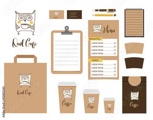 Freebie Identity and Brand Mockup PSD Kit http\/\/wwwbyteswire - coffee menu