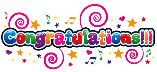 Congratulations!!! - Buy this stock vector and explore similar