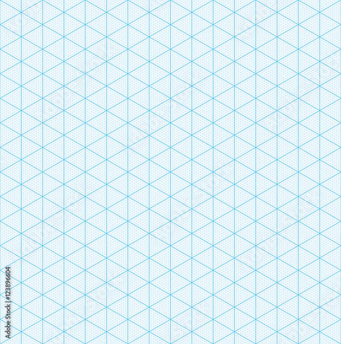 Isometric graph paper for 3D design - isometric graph paper